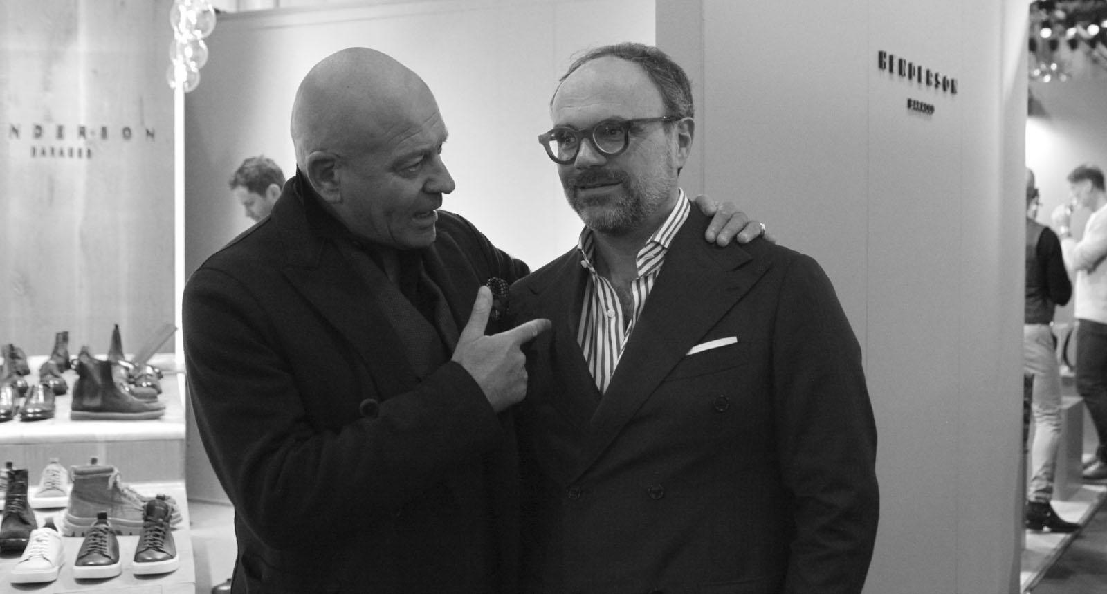 Alberto Del Biondi, Gigi Baracco at PU97