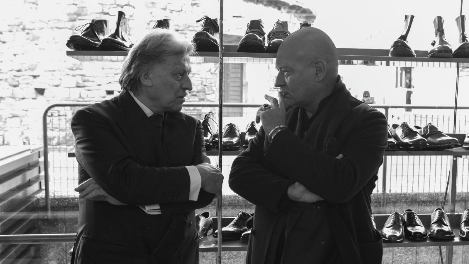 Alberto Del Biondi, Silvano Lattanzi at PU97